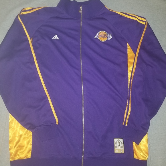 Adidas Lakers World Champs Jacket 0084fcec8